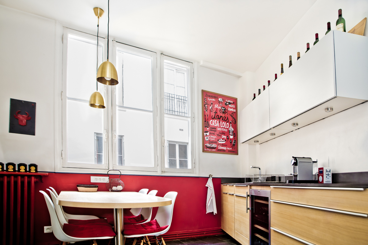 Un appartement Familial Paris 17e