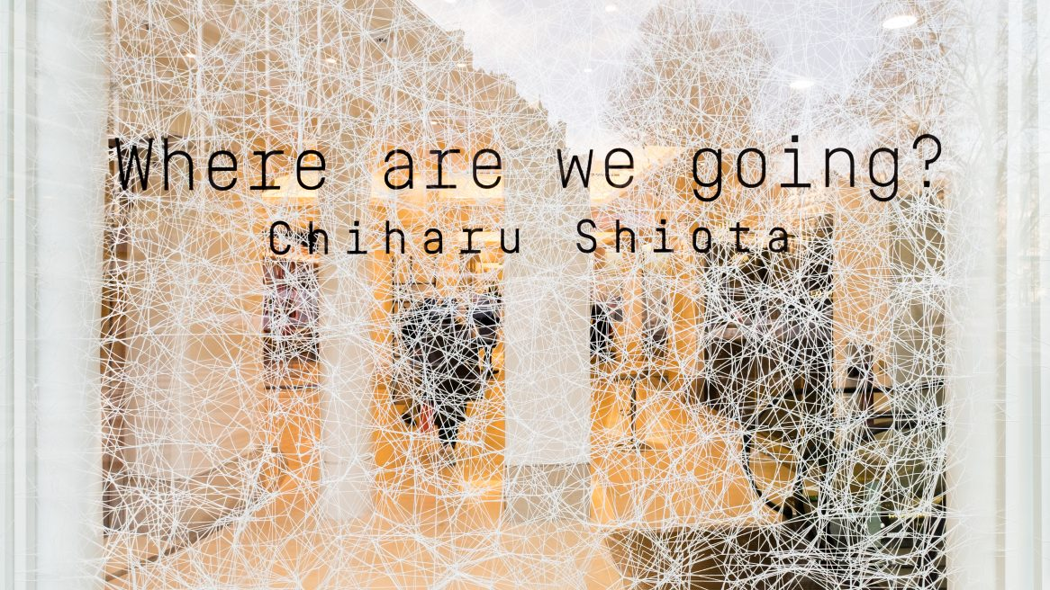 Exposition Chiharu Shiota au Bon Marché