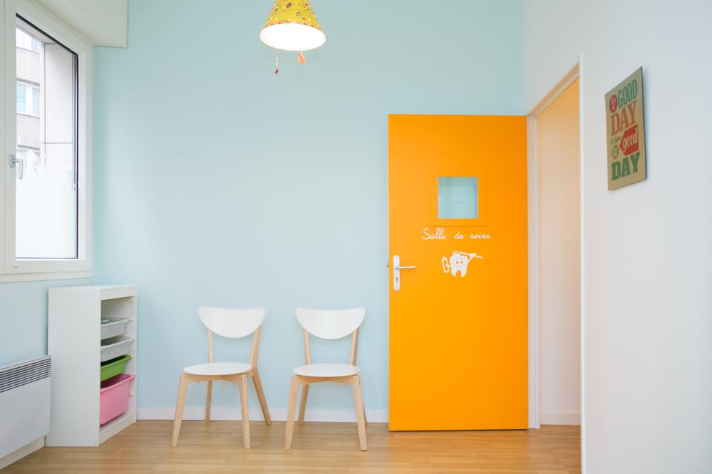 Un cabinet dentaire pour enfants