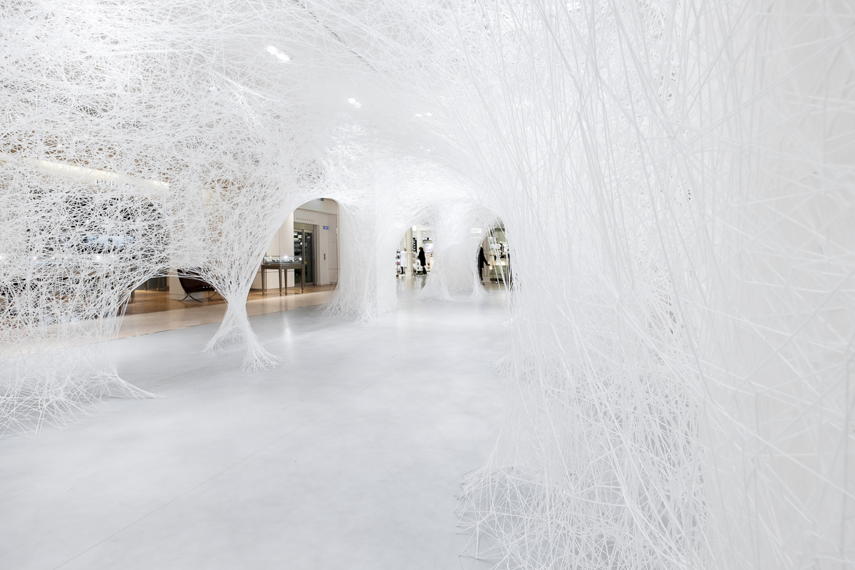 Chiharu SHIOTA Exposition Where are we going (13)