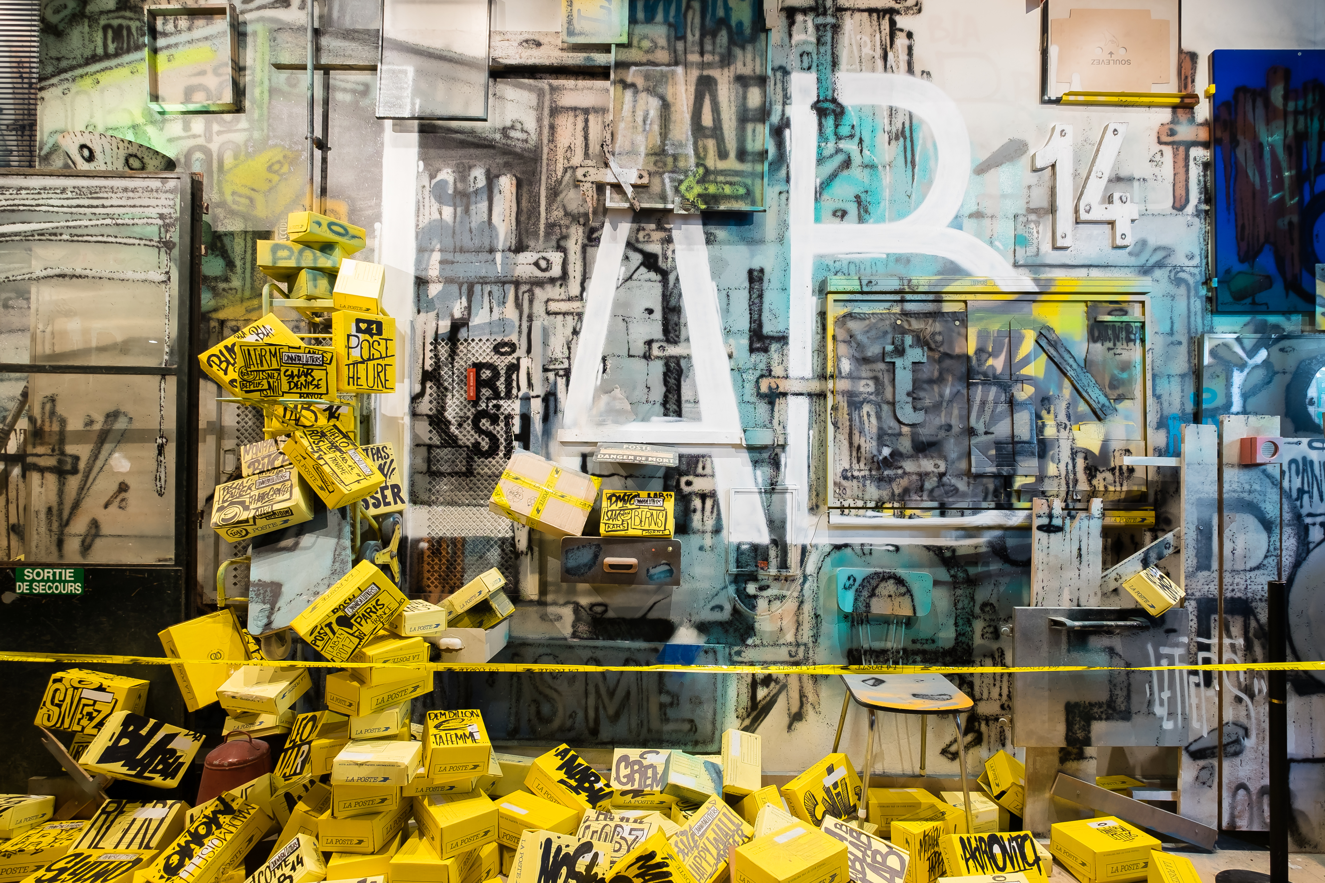 Lab 14 Le street art s'expose à Montparnasse
