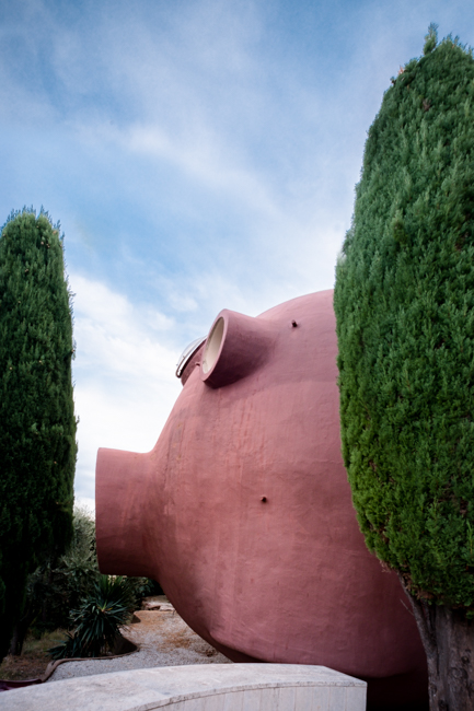 Photographe Architecture Palais Bulle Pierre Cardin