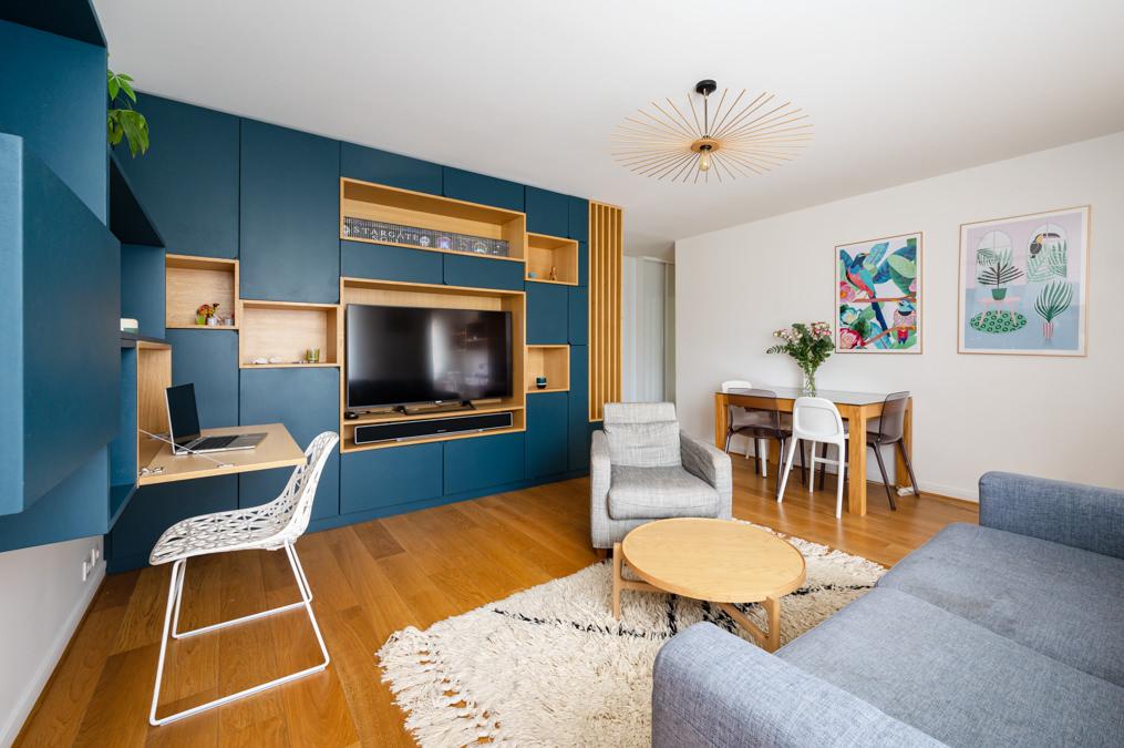 Photographe Architecture intérieure Appartement Colombes